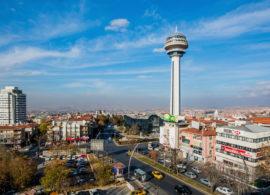 Ankara Baskent Capital City Turkey Turkiye Merkez Devlet Kizilay Tunali Hilmi Esenboga Havaalani Airport Kule