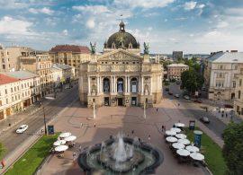 Lviv Lvov Ukraine Opera Ukraine