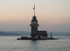 Istanbul Maiden Tower Kiz Kulesi Marmara Deniz Tur Gezi Kule Kiz Tarihi Osmanli Ottoman Empire