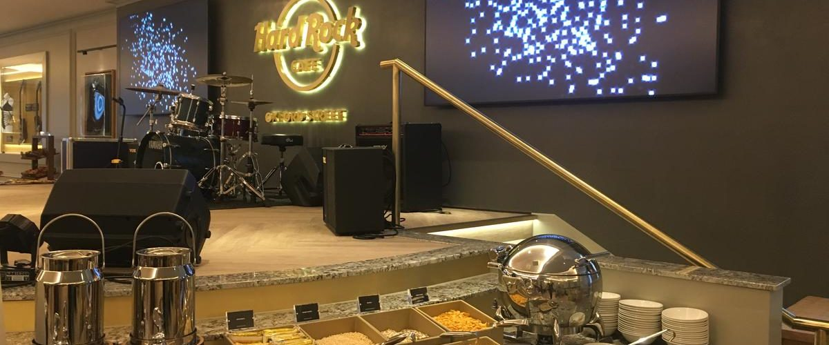 Hard Rock Hotel Cafe Bar Food Entertainment London UK Restaurant