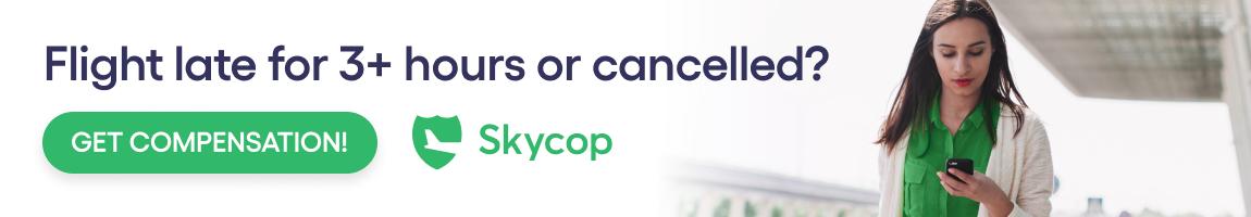 skycop atlantis luxury travel claim flight delay overbooking